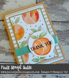 fresh fruit stampin up - Google Search