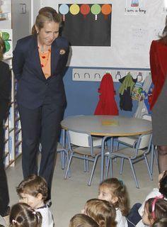 Visitando el colegio Tres Olivos