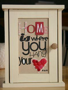 framed words