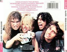 Reign In Blood-Best album EVAR!! Jump on the treadmill, press play and before you know it, you've already ran 3 miles.