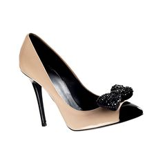 Brides.com: Wedding Style Ideas Inspired by Adele. Patent leather shoes with Swarovski crystals, $1,195, Giuseppe Zanotti Design. Browse more wedding shoes
