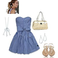 Summer dress, created by paulette-lanni