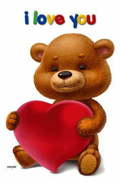 "Photo from album ""Альбом on Yandex. I Love You Pictures, Teddy Bear Pictures, Love You Images, Cute Images, Cute Teddy Bear Pics, Teddy Bear Hug, Teddy Bear Cartoon, Tatty Teddy, Cute Love Gif"