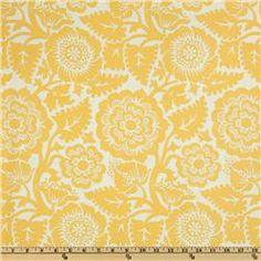 Joel Dewberry Heirloom Blockprint Blossom Dandelion