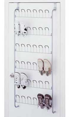 Straighten hooks to hang onto wall studs