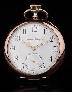 425cac350186 Antiguo Reloj de Bolsillo Tavannes de Plata Maciza. 1920. Contrastado y  Funcionando