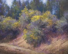 Saffron Crowns by Richard McKinley Pastel ~ 16 x 20