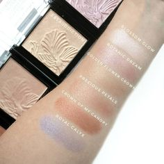 new wet n wild megaglo highlighting powder swatches