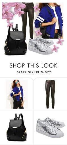 """sport and casual"" by natali-lustova ❤ liked on Polyvore featuring J Brand and adidas Originals"
