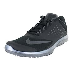 new styles cc109 fd0e0 NIKE MENS NIKE FS LITE RUN 2 BLACK ANTHRACITEDARK GREYWHI SIZE 105 >>> More  info could be found at the image url. (This is an affiliate link) #NikeShoes