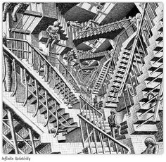 escher | Escher's Infinite Relativity