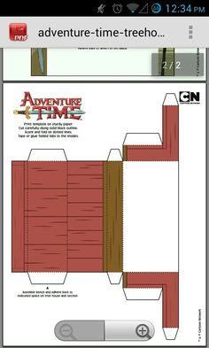 Tree Trunks Adventure Time House For Kids