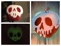 poison apple charm