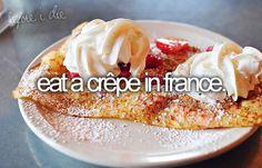 [Bucketlist] FOOD (Crepe, Breakfast in Bed, Philadelphia Cheesesteak, Japanese…
