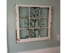 Here are some window frame ideas I found...
