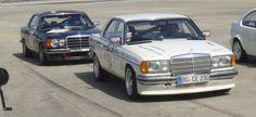Motorsport mit altem Eisen: Mercedes-Benz 280 CE Gruppe 2 vs. 230 CE Gruppe A
