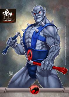 New illustrations for a cards game that I did for Universo Retro about Thundercats. Rights reserved to Rankin/Bass. Panthro Art done by Franciscoetchart.deviantart