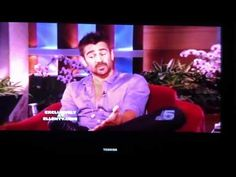 Colin Farrell on Ellen talking about Angelman Syndrome