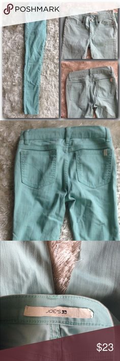 Joes jeans New without tags• Authentic •light aqua (shown in second photo) skinny jeans•5pocket•SOLD AS LOT• WILL NOT SELL SEPARATE• FREE MYSTERY ITEM WITH PURCHASE. Joe's Jeans Bottoms Jeans
