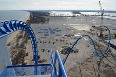 With less than four months to go, Cedar Point is showing no sign of slowing with the construction of GateKeeper. Cedar Point still has a lot of work ahead of them, so let's take a look at the progress Riders On The Storm, Cedar Point, Front Gates, Park Resorts, Mother Nature, Summer Fun, Disneyland, Roller Coasters, Beautiful