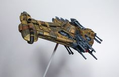 Modified for Scum & Villainy. Star Wars Rpg, Star Wars Ships, Star Wars Spaceships, X Wing Miniatures, Star Wars Vehicles, Star Wars Models, Spaceship Design, Model Maker, Custom Action Figures