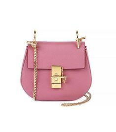 Chloe Drew bag pink rose