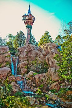 Tangled area of Disney World. I want to go back so bad. I think the kids would really enjoy it. All it takes is $