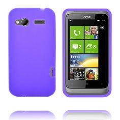 Soft Shell (Lilla) HTC Radar Deksel