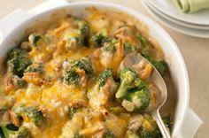 Creamy Broccoli-Cheddar Bake