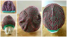 Brioche Beanie Knitted Hats, Beanie, Knitting, Brioche, Breien, Patterns, Tricot, Knit Caps, Beanies