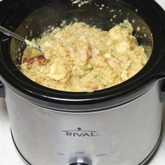 Slow Cooker Chicken and Dressing Allrecipes.com