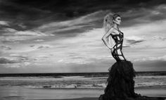 """""""La Strega Del Mare"""" (""""The Sea Witch"""") Photo Series   Model: Sarah Joseph Nunn, Photographer: Robert Coppa, 2012"""