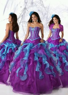 Ball Gown Sweetheart Organza Regency Quinceanera Dress With Beading 1d88df6ad87c
