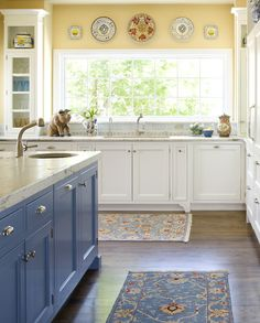 Carlson Project traditional kitchen....colors