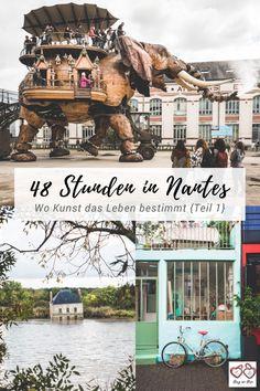 12 #Tipps für deinen Besuch in #Nantes in #Frankreich Die perfekte Stadt für eine #Städtereise für alle die #Kunst und #Kultur mögen. Die heimliche #Hauptstadt der #Bretagne im Loire- Atlantique lockt mit spannenden #Sehenswürdigkeiten für alle Frankreichfans