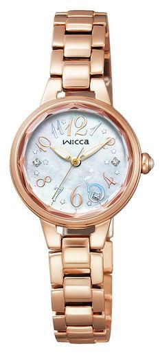 Amazon.co.jp: [シチズン]CITIZEN 腕時計 wicca ウィッカ ソーラーテック プレミアム / ティアラ KH1-069-91 レディース: Watches通販