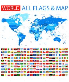 Map and flags of europe flags european flags and graphics all flags and world map gumiabroncs Images