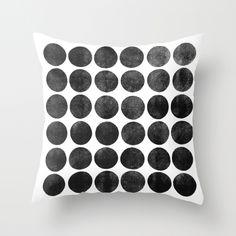 Colorplay_Black Throw Pillow