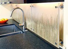 kitchen backsplash from drab to fab  Nice slide show....