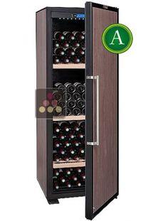 la sommeliere ctp177 cave a vin de vieillissement 165 bouteilles porte pleine cave a vin de. Black Bedroom Furniture Sets. Home Design Ideas