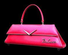 Revamp Productions - Deluxe Royal Pink Purse - Custom - Hotrod - Rockabilly - Retro - Handbags - Totes
