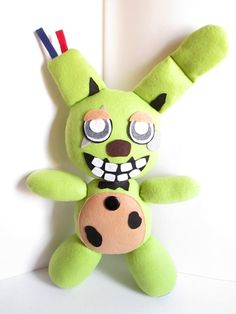 Not for Christmas Springtrap Plush Inspired by by FabroCreations