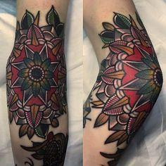 mico tattoo _ #elbow #mandalatattoo