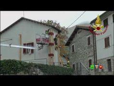 Sisma centro Italia - Soccorsi dei Vigili del Fuoco - Pretara 22 Ottobre...