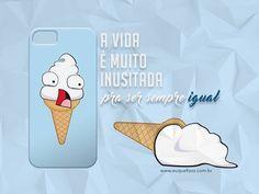 Quem nunca fez isso 😤😖😿. Aposto que com uma capinha dessa você pensaria duas vezes 😜😂😂. #euquefizzz #original #case #capinha #fotododia www.euquefizzz.com.br