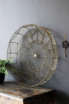 Decorative Brass Wire Display Bowl