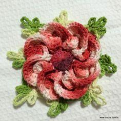 Flor segredo passo a passo - www.croche.com (60)