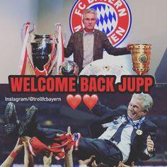 """727 kedvelés, 4 hozzászólás – Troll FC Bayern (@trollfcbayern) Instagram-hozzászólása: """"Bayern officially re-hire our legendary treble winning manager Jupp Heynckes ❤️❤️.. .. Danke Kalle…"""""""