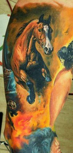 Tattoo Artist - Dmitriy Samohin - animal tattoo