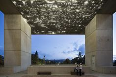 Gering & Lopez Gallery - Leo Villareal. Site specific installation, Johnson Museum of Art.